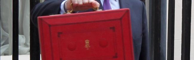 George Osborne's red briefcase