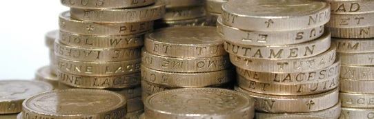stacked pound coins (2)